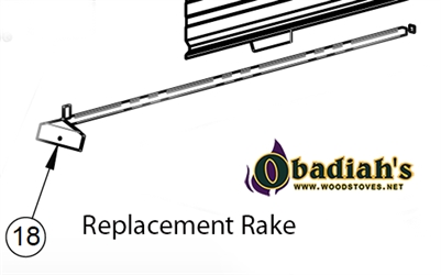 Cozeburn Empyre 250 Outdoor Wood Boiler Replacement Rake