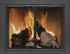 Carson Glass Fire Screen Size 4 At Obadiah S Woodstoves