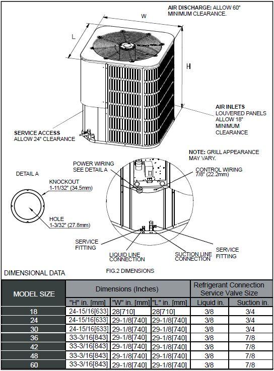 napoleon element 16 seer air conditioner
